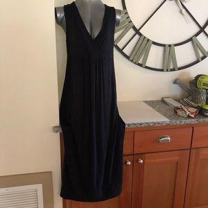 JJill black maxi dress